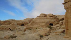 Wadi Musa caves, Petra