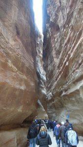 Siq, entrance, Petra
