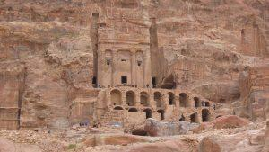 Royal tombs, Petra