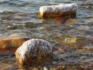 Dead Sea salt, Jordan