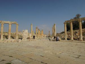 The oval forum, Jerash, Jordan