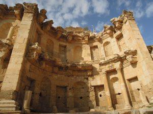 The Jerash nymphaeum, Jordan
