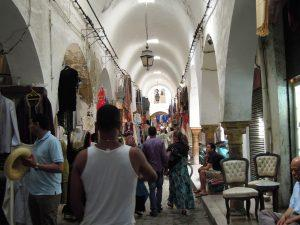 Souq in the Medina, Tunis, Tunisia