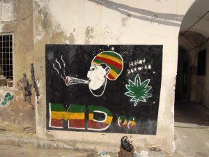 Street graffiti, Tunis, Tunisia