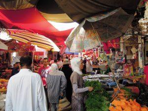 Local market in Tunis, Tunisia