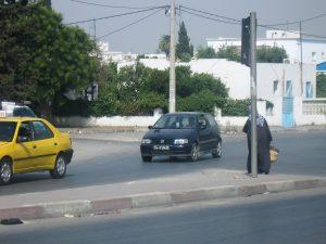 Getting into Tunis, Tunisia