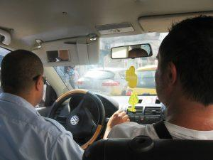 Taxi ride in Tunis, Tunisia