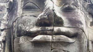 Angkor Tom, Bayon temple face