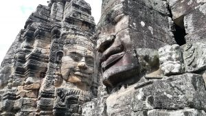 Angkor-Tom-Bayon-temple-stone-faces