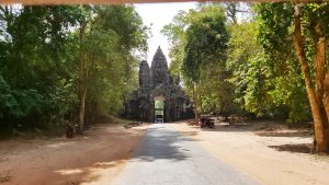 Angkor Tom - western gate