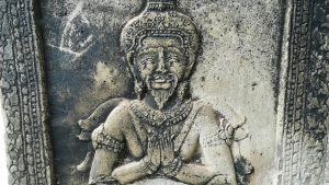 Angkor Wat-Temple wall carving