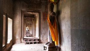 Angkor Wat temple-Hallway