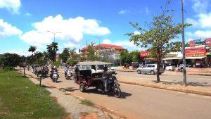 Street in Siam Reap