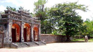 Dai Hong Mon Gate-Minh Mang Imperial Tomb