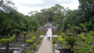 Minh Mang Imperial Tomb, garden