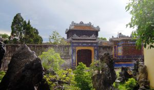 """Purple city"" courtyard, Hue"