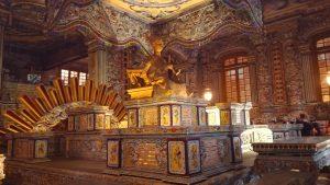 Khải Định Tomb, Hue - crypt