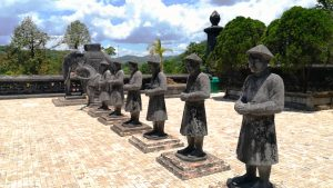 Khải Định Tomb, Hue - Imperial guardians