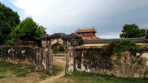 Part of original imperial palace, Hue