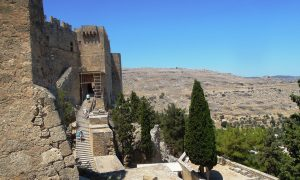 Knights-of-St.-John-the-castle-Lindos-Acropolis-Rhodes