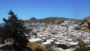 Lindos, view from the Acropolis