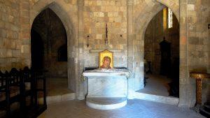 Filerimos - Church interior