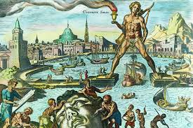 The Colossus Of Rhodes, One of the Seven Wonders of the Ancient World, Martin Heemskerck, 16th century