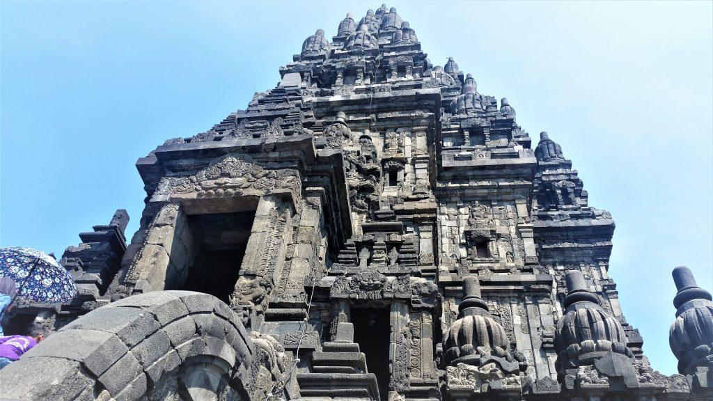 The main temple dedicated to Shiva, Prambanan