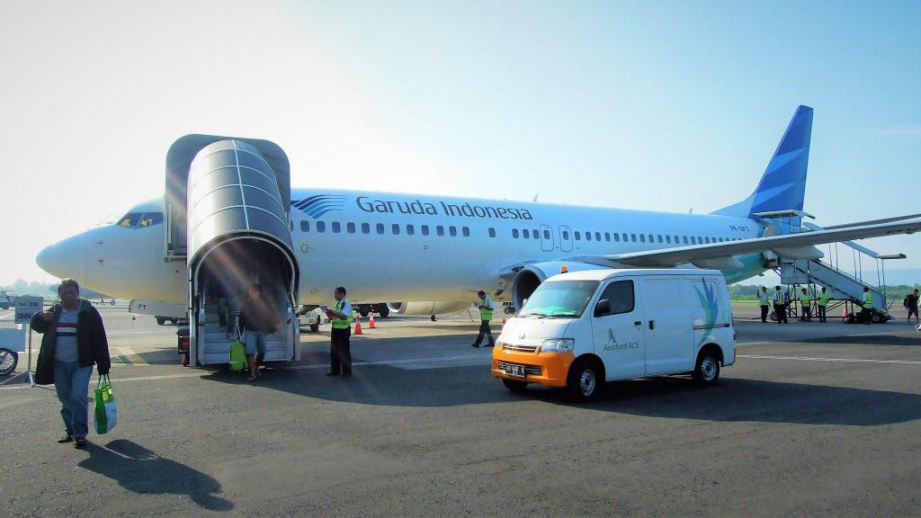 Garuda Indonesia,Yogyakarta, airport