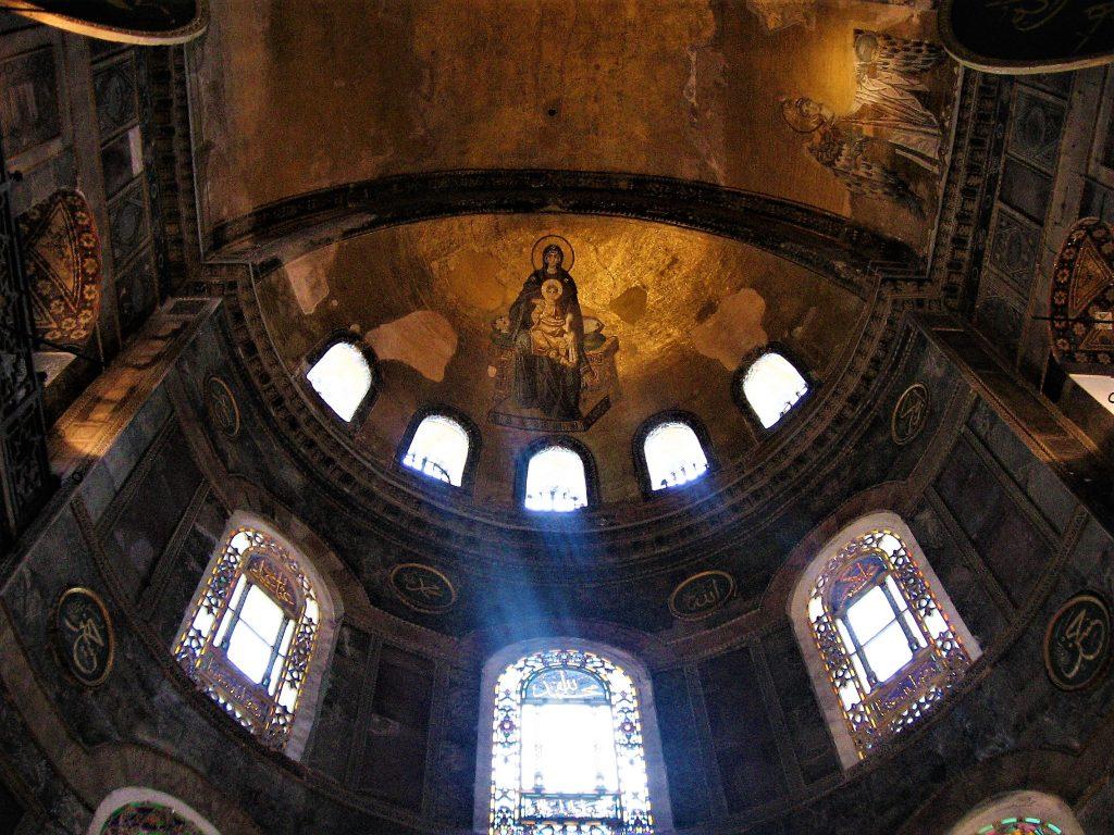 Interior view of the Hagia Sofia,Света Софија, Istanbul